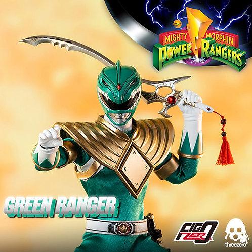 ThreeZero 新恐龍戰隊 1/6 綠戰士 高可動 人偶