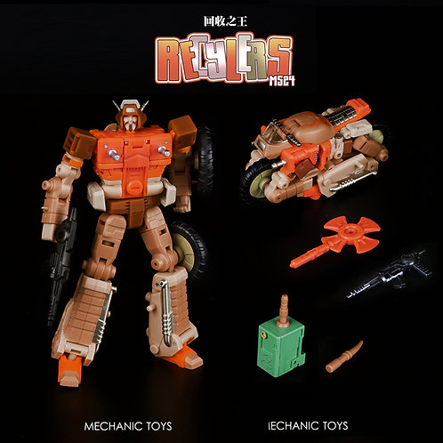 MFT Mech Fans Toys MS-24 回收之王小分隊
