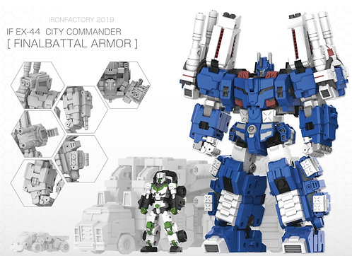 Ironfactory EX-44 City Commander