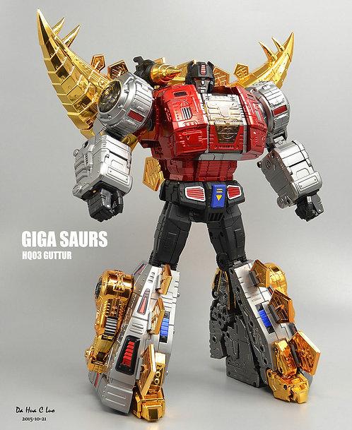 Giga Power HQ03R 嚎叫 電鍍版 再版