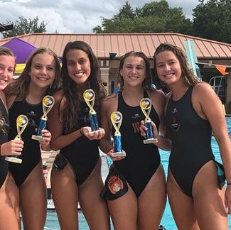 Girls Beach Tournament Winners