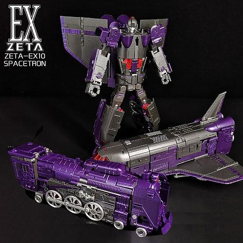 ZETA TOYS EX10-SPACETRON 三變大火車