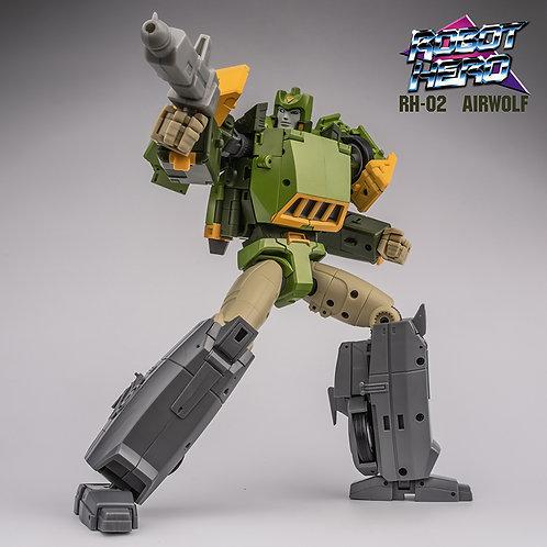 Robot Hero RH-02 彈簧 AirWolf MP SIZE