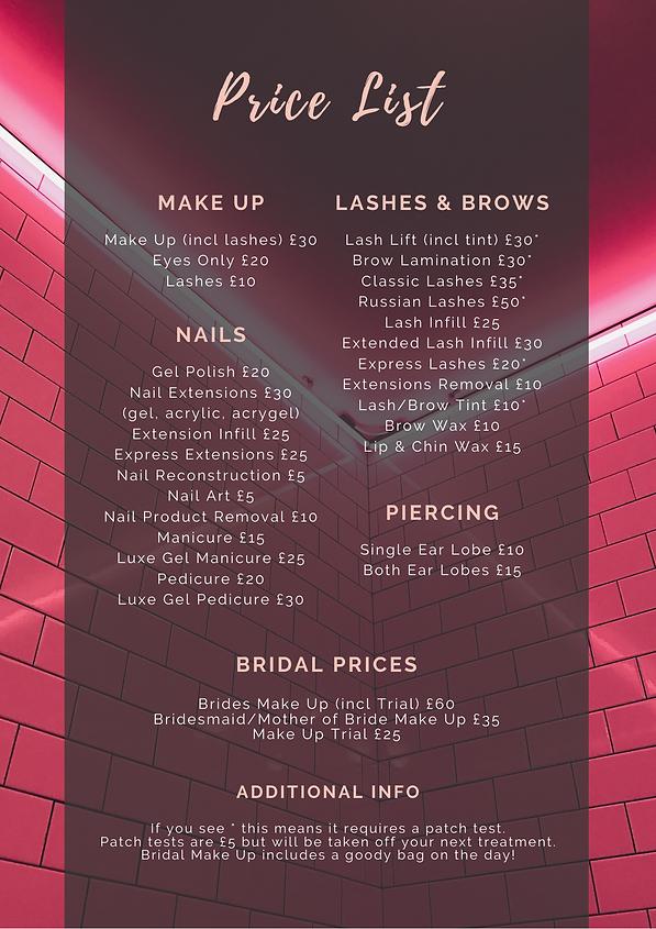 Ellagnte Make Up Price List