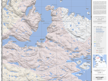 Nunatop - Inuit place names maps - Ready