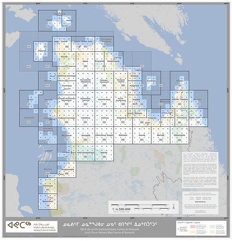 NUNATOP 50K Maps