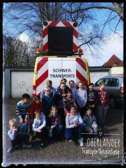 Besuch Grundschule, Projektwoche