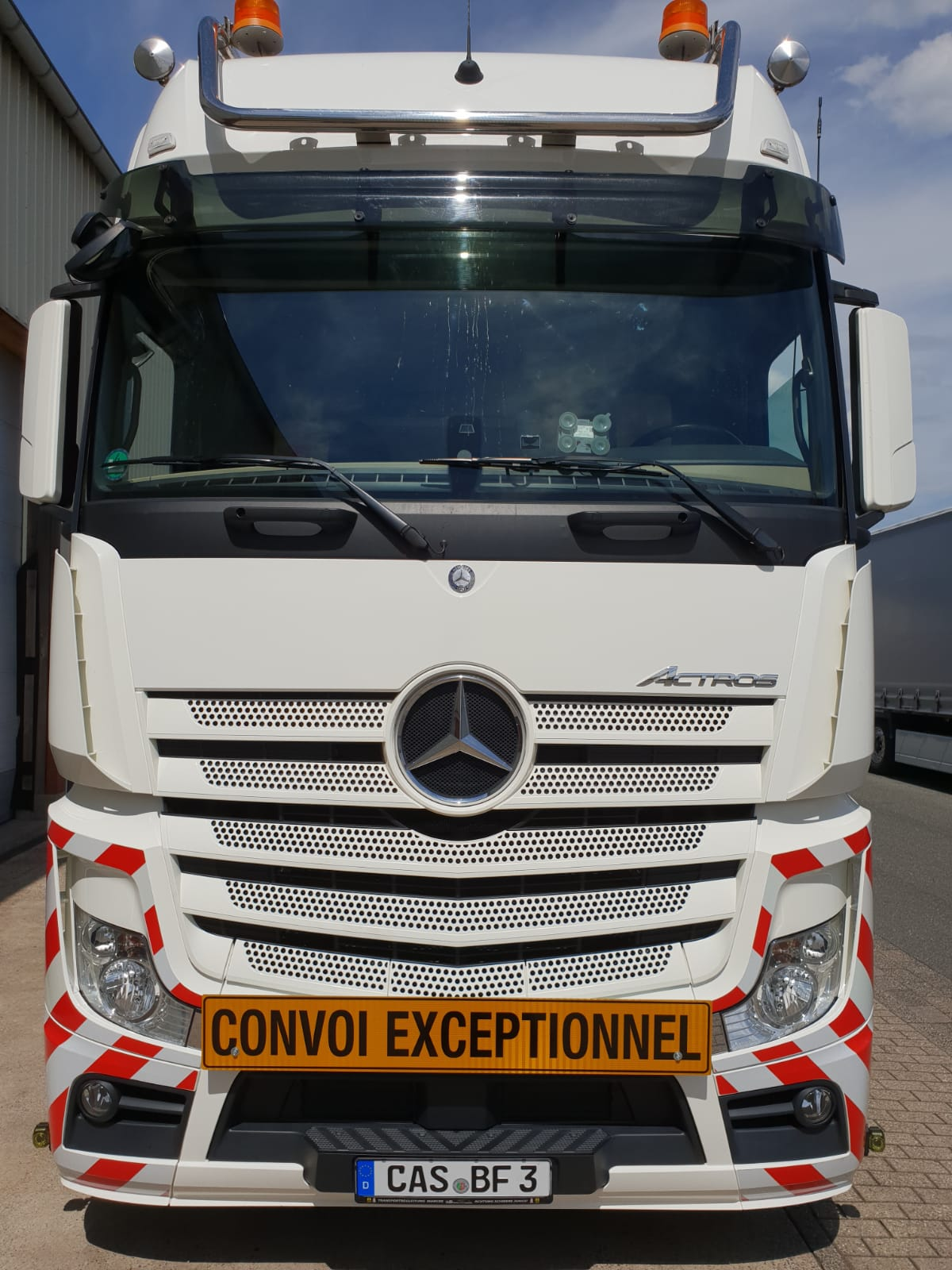 Actros, Convoi Exceptionnel