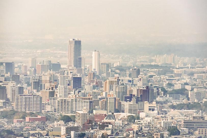 久留米市の景色
