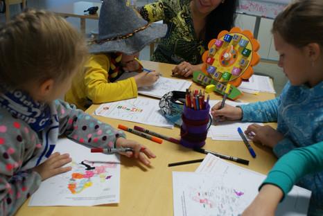Летние языковые курсы для детей: финский, русский и английский!