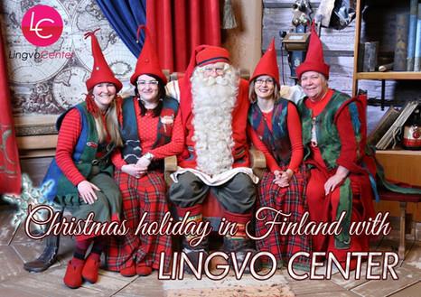 Зимний международный лагерь в Финляндии с 3.1 - 9.1.2020