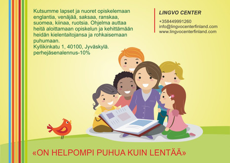 Kielikurssit lapsille