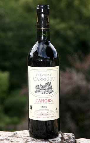 """Château Carrigou"" Cahors Rouge"