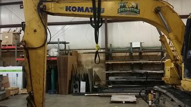 Heavy Equipment Welding