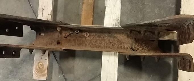 Truck Frame Repair (before)