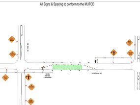 Tower Crane Erection: Traffic Control Plan for Monday (7/16)