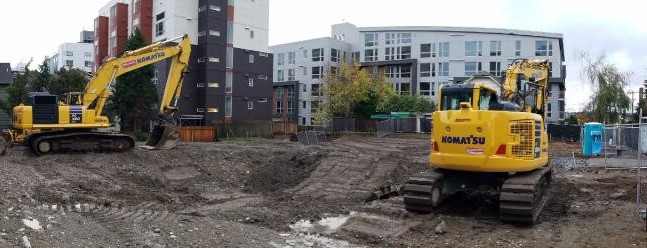 Demolition Complete & Shoring Commencement