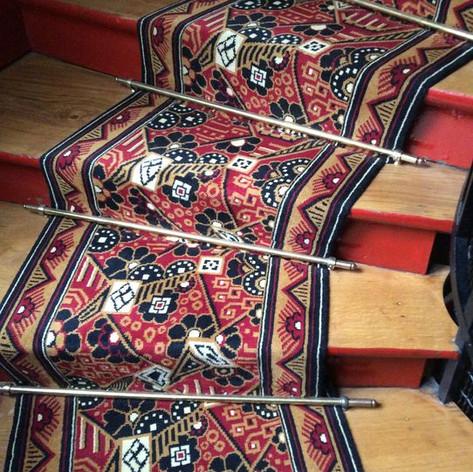 Tapis d'escalier Collection Art Déco