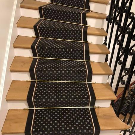 Tapis d'escalier Collection Fleurettes