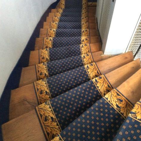 Tapis d'escalier 3 couleurs
