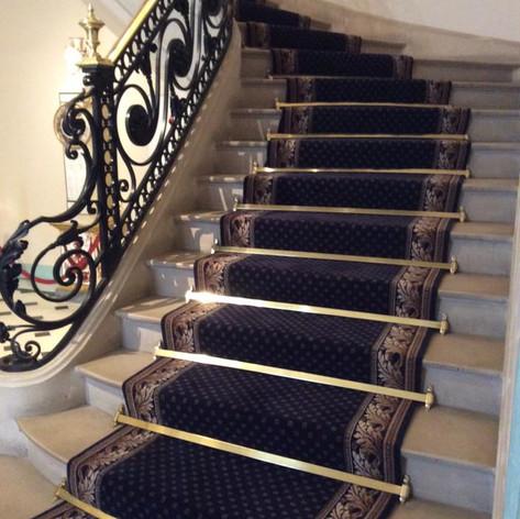 Tapis d'escalier Feuille d'Acanthe