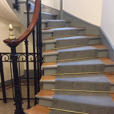 Tapis d'escalier Grain de Beauté