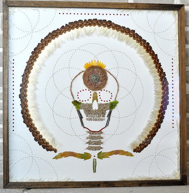 meditation skull