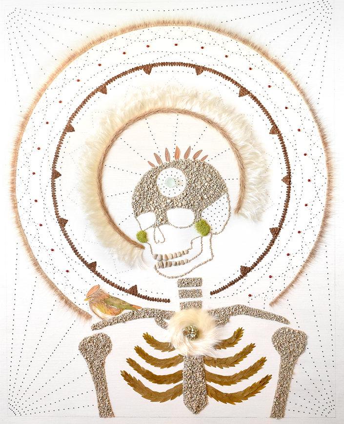 Skeleton Mandala