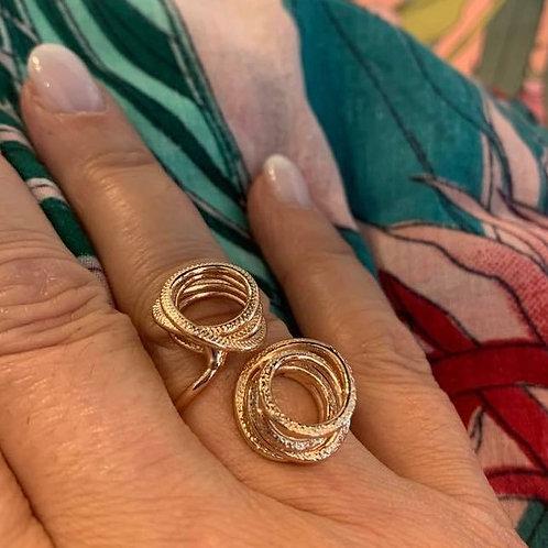 Cirkel ring Catherine