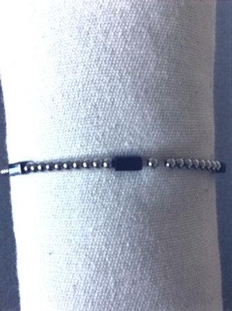 Armbandje fijn zilverkleurig