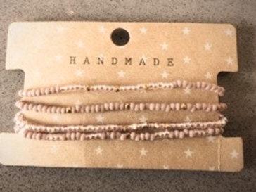 Armband setje Handmade Bruin