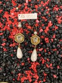 Oorbellen hangers Opus4 white collectie