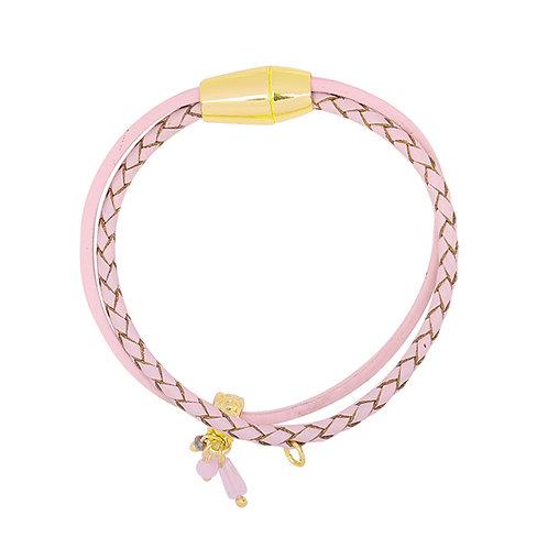 Armband roze magnetic