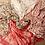 Thumbnail: Handgemaakte Shanna sjaal rood