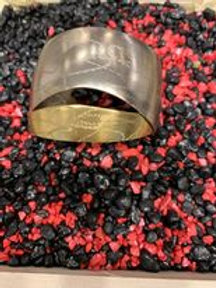 Armband Opus4  zilver / goudkleurig