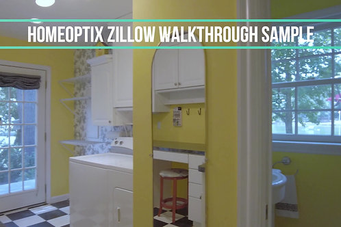 Zillow Walk-through Video (Under 1500 Sqft)