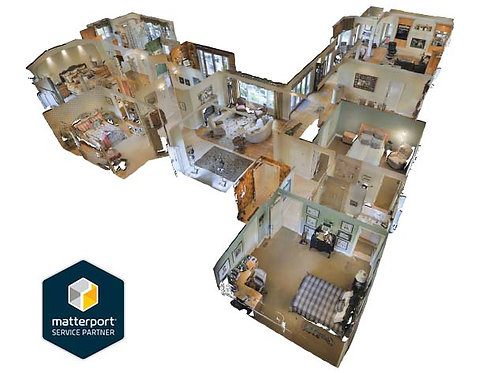MatterPort 3D Home Tour - 3001 - 6000 sq ft