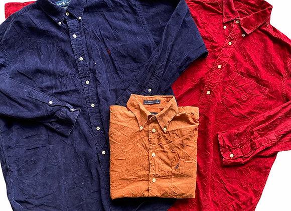 Vintage Branded Corduroy Shirts