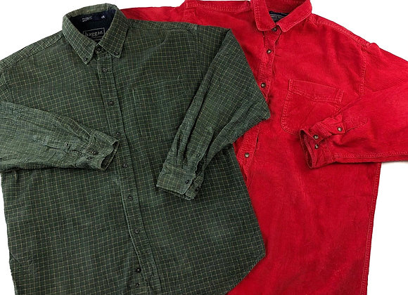 Vintage Corduroy Men's Shirt