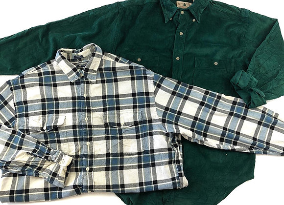 Vintage Corduroy Men's Shirt