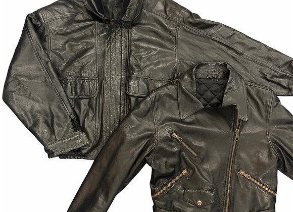 Vintage Leather Jackets - 25KG