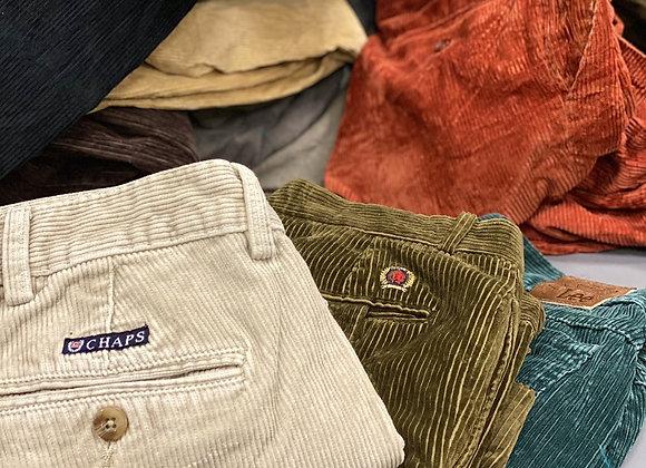 Vintage Branded Cord Pants