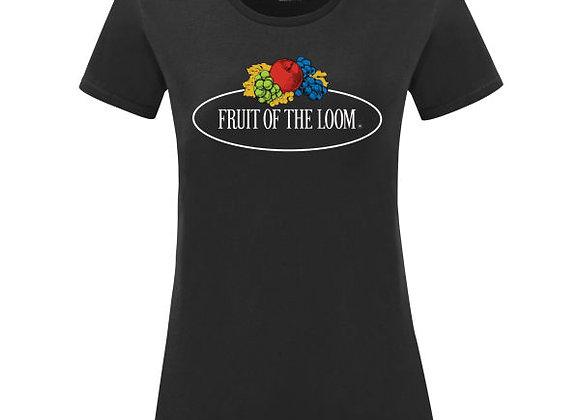 Ladies' Fruit Of The Loom 'Vintage' Tee with Big Logo