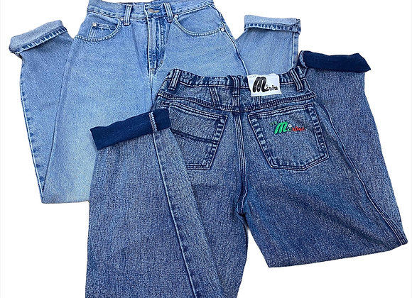 Vintage High Waisted Jeans/Trousers