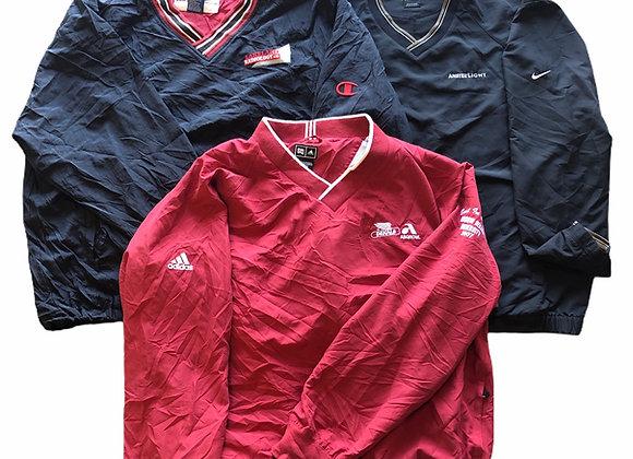 Vintage Branded Business Pullover Jackets
