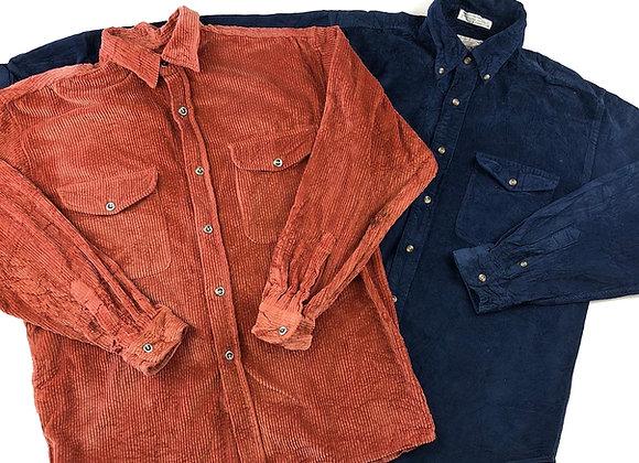 Corduroy Shirt - Grade B X 50