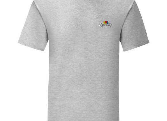 Fruit Of The Loom 'Vintage' Tee with Small Logo
