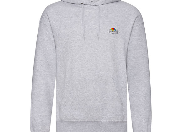 Fruit Of The Loom 'Vintage' Hooded Sweat with Small Logo