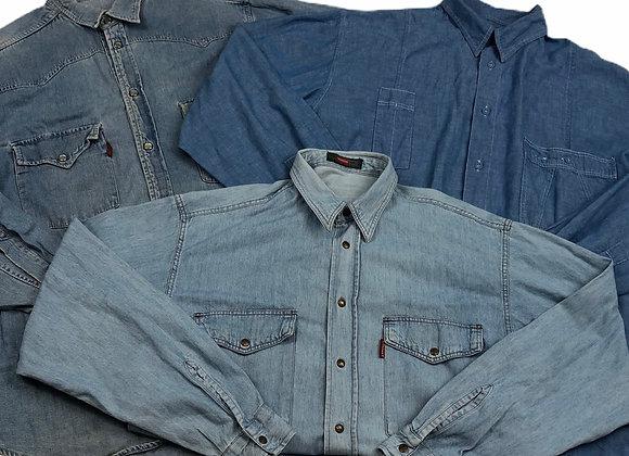 Vintage Branded Denim Shirts