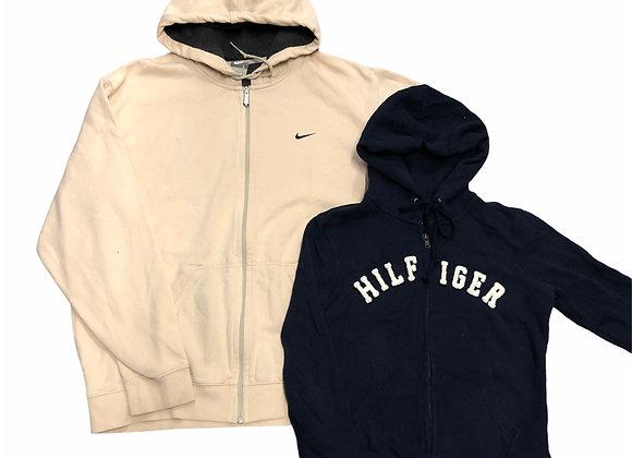 Branded Hoodies Mix (Zip)